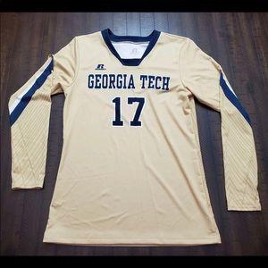 NWT Georgia Tech Sz Med. Women's Volleyball Jersey